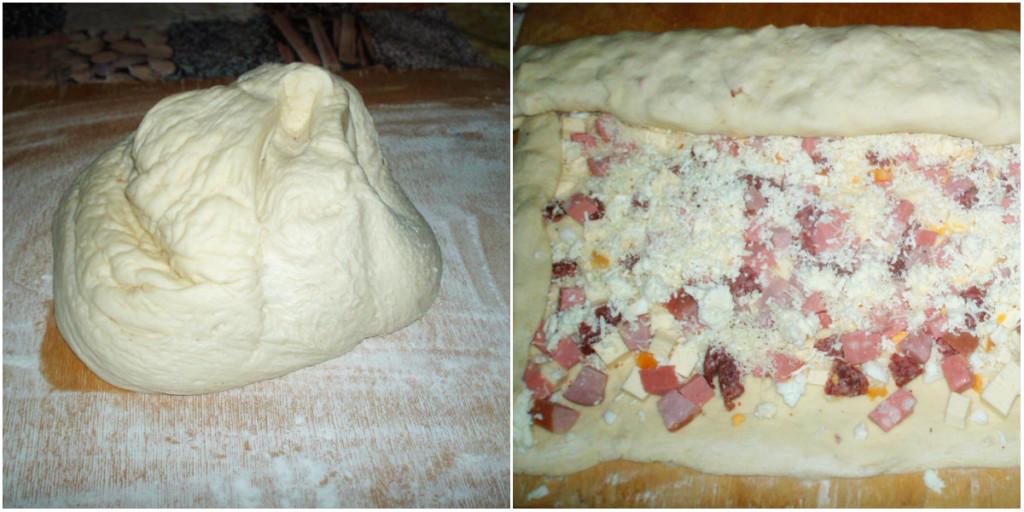 Начинка и тесто для булочек