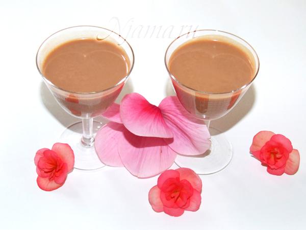 Шоколадно-ореховый ликер
