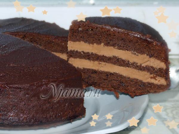 пражский торт пошаговый рецепт в мультиварке