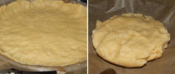 Сливовый пирог: песочное тесто