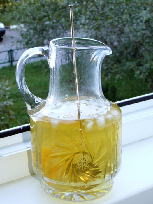 Холодный чайный коктейль