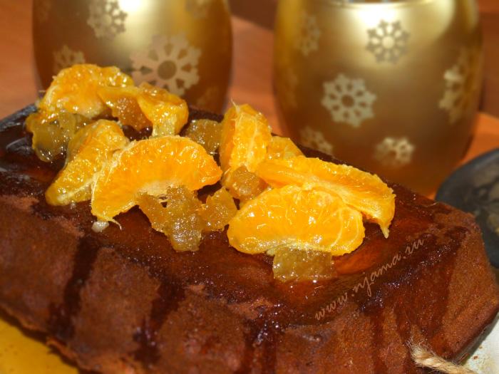 Медово-имбирный рождественский кекс