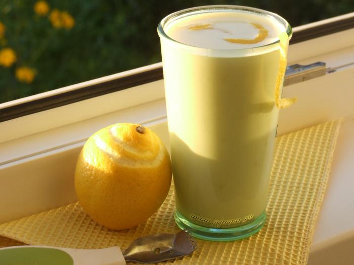 Лимонный йогурт