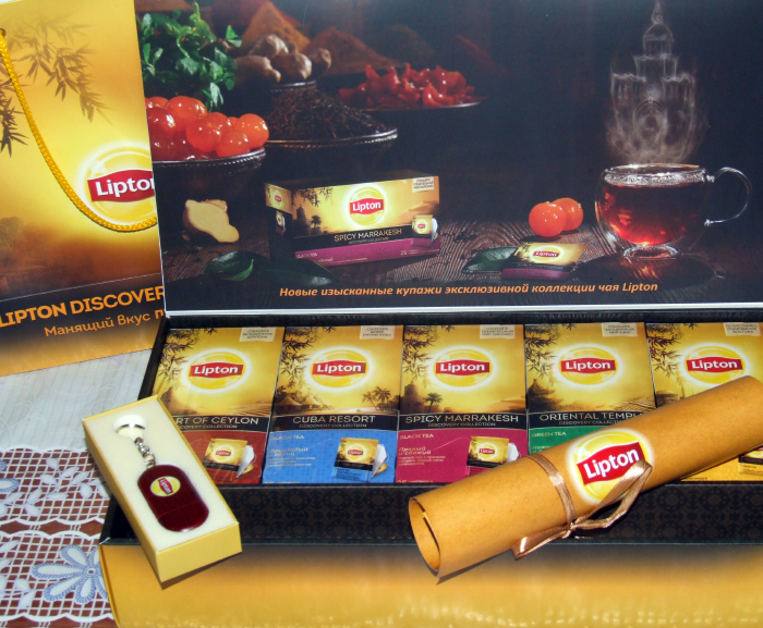 Lipton discovery collection