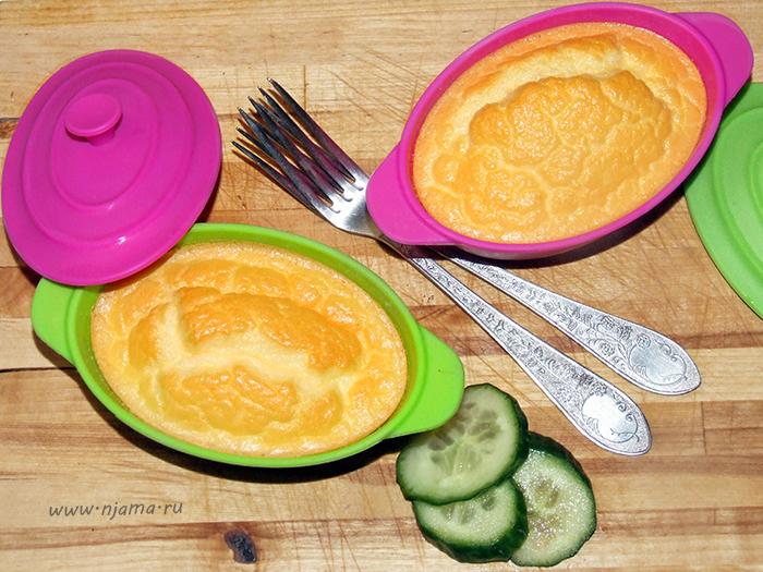 Яичное суфле с сыром